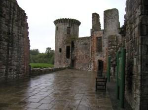 Murdoch's Tower at Caerlaverock Castle Scotland