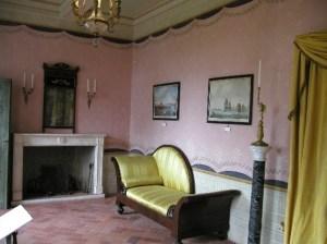 Elba, Villa dei Mulini, interior