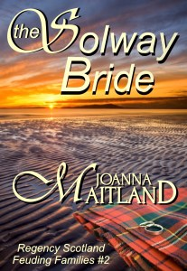 The Solway Bride by Joanna Maitland cover