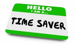 Hello I'm a Time Saver badge