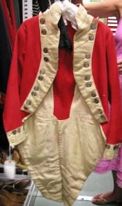 Regency military uniform jacket front