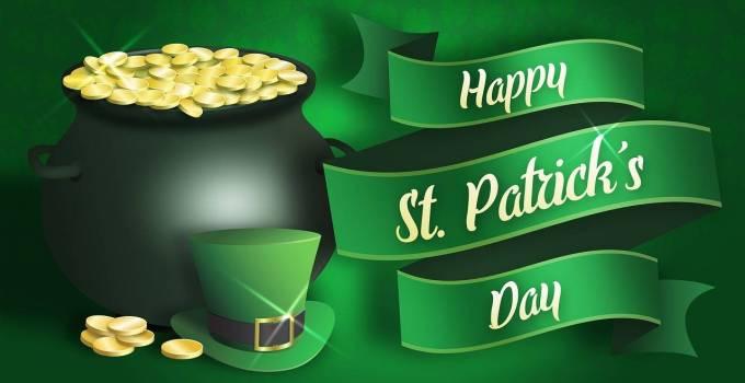 El dia de San patricio es uno de los días que más bebida se vende.
