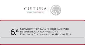 Conv Festivales
