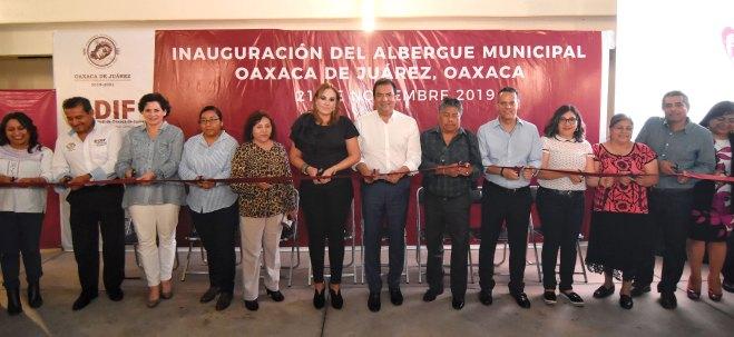 Abre DIF Municipal de Oaxaca de Juárez albergue para personas en situación de calle