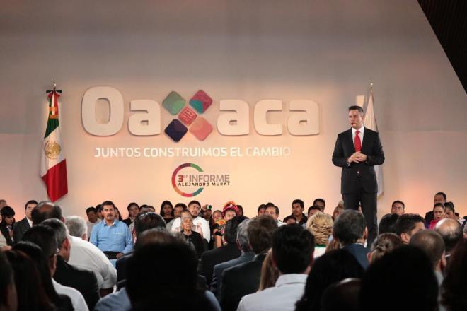 Alejandro Murat Hinojosa: Tres años de cumplirle con resultados a Oaxaca: Francisco Ángel Maldonado Martínez*