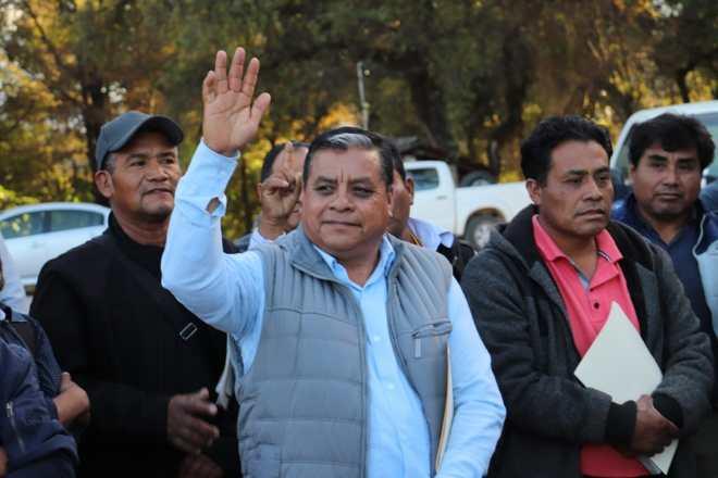 Edil de Tlaxiaco participa en la asamblea de autoridades de la región, para construir propuestas al Presidente de la República