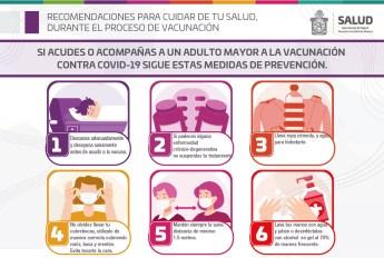 salud recomendaciones para vacunación