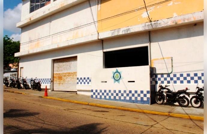 Rafaguearon en la madrugada las bases de la Policía Estatal en Coatzacoalcos