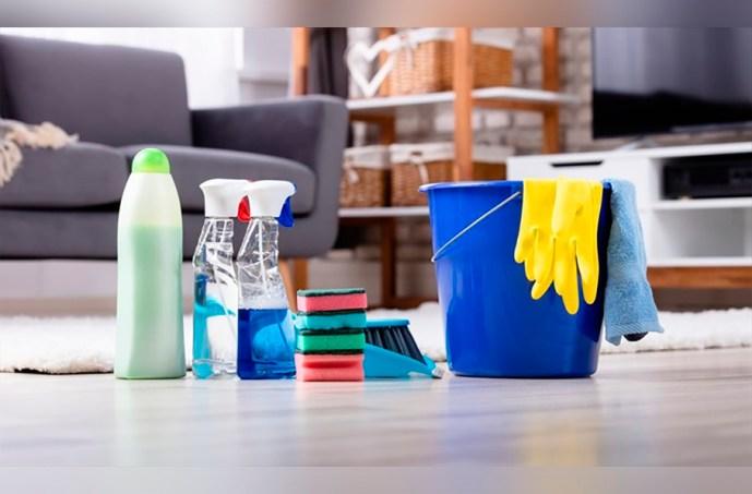 Quiso tener su casa limpia