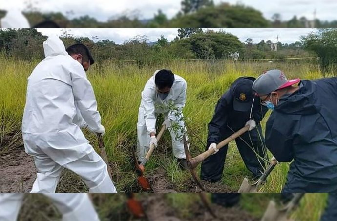 Encuentran fosa clandestina en Comitán de Domínguez, Chiapas; hallaron tres cadáveres desmembrados