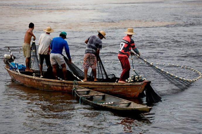Pescadores veracruzanos