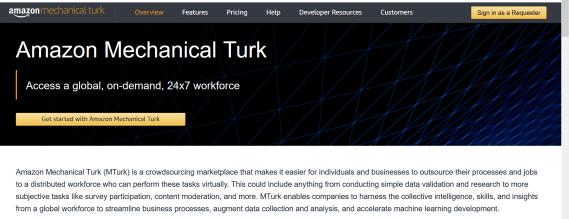 como ganar dinero por internet con Mechanical Turk