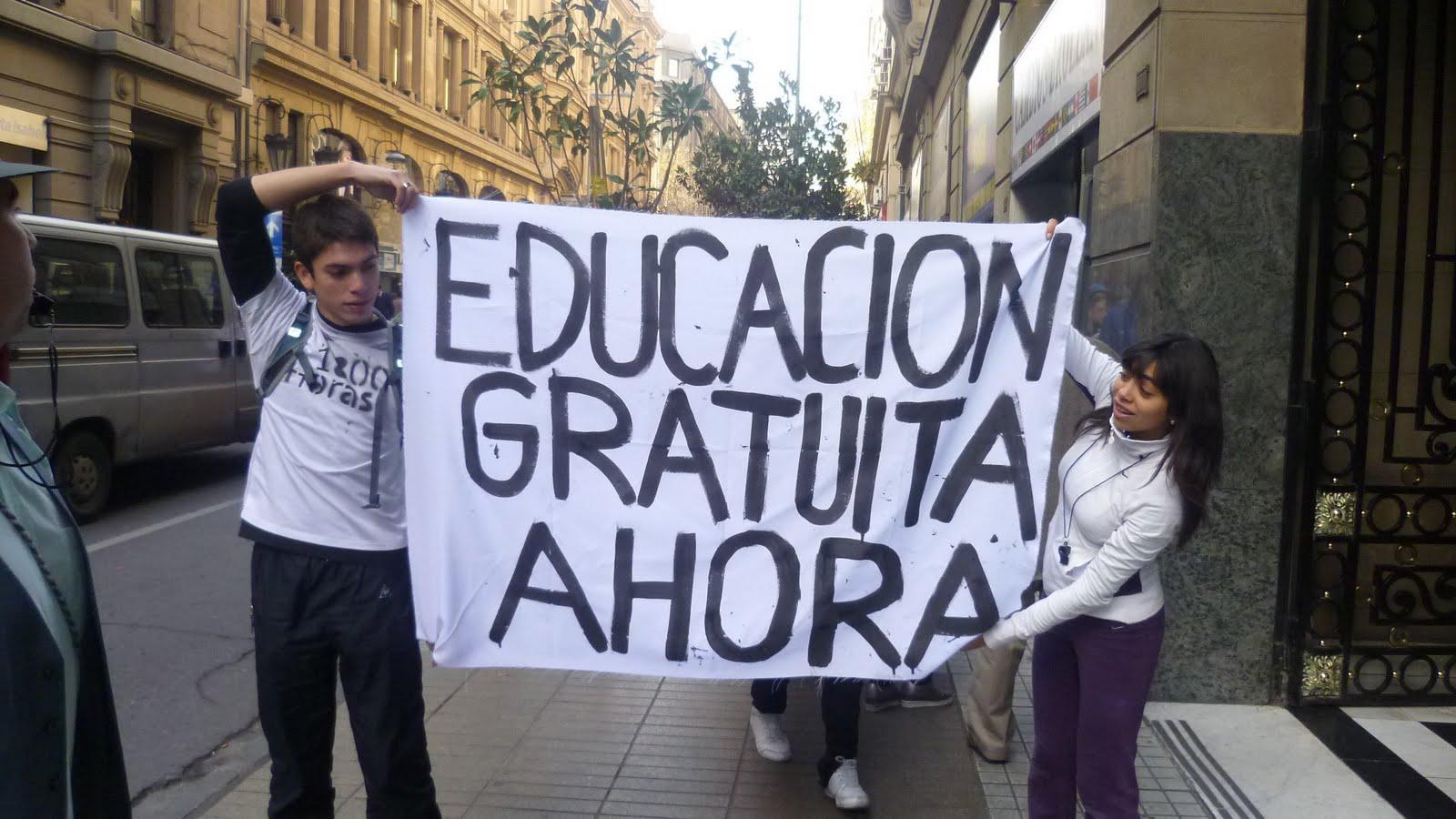 Resultado de imagen para educacion gratuita