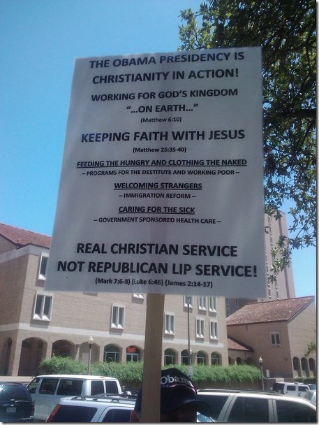 Obama - Christianity in Action