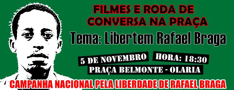Filmes e Roda de Conversa na Praça