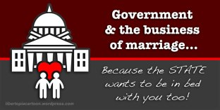 marriage, libertarian, Statism
