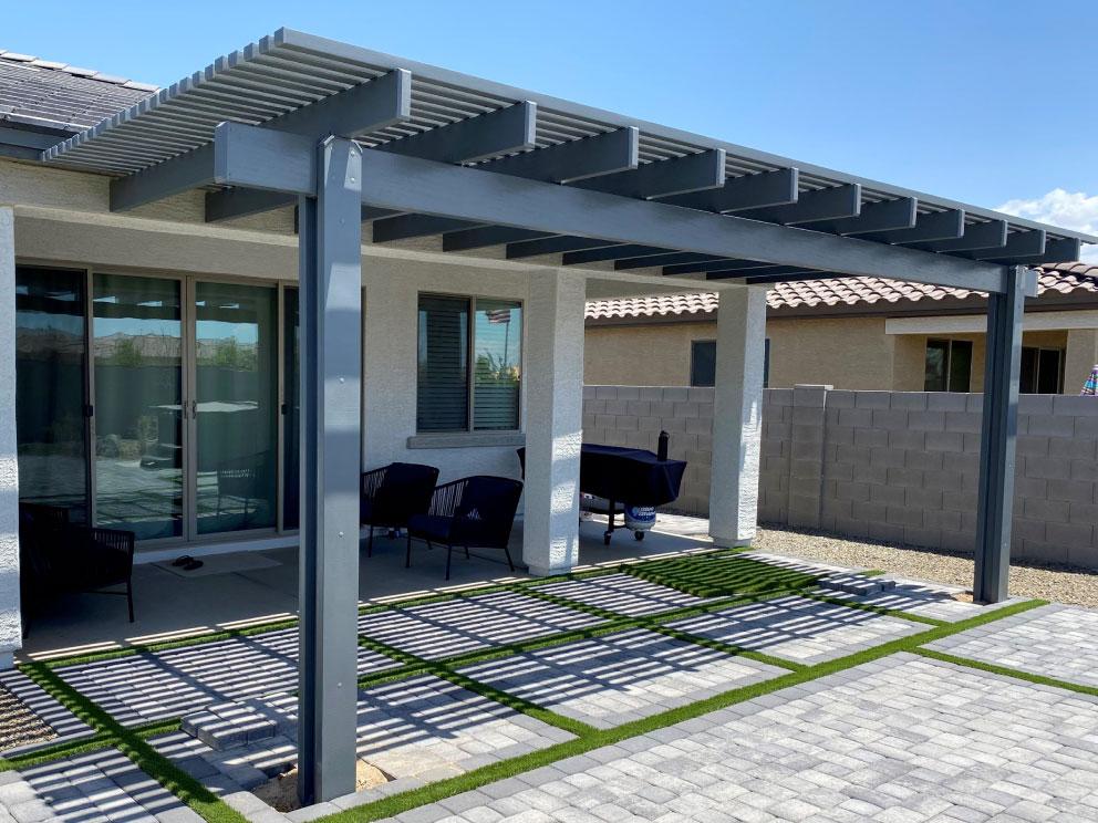 lattice patio covers awnings shade