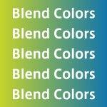 Illustratorのブレンドで中間色を手早くつくる方法