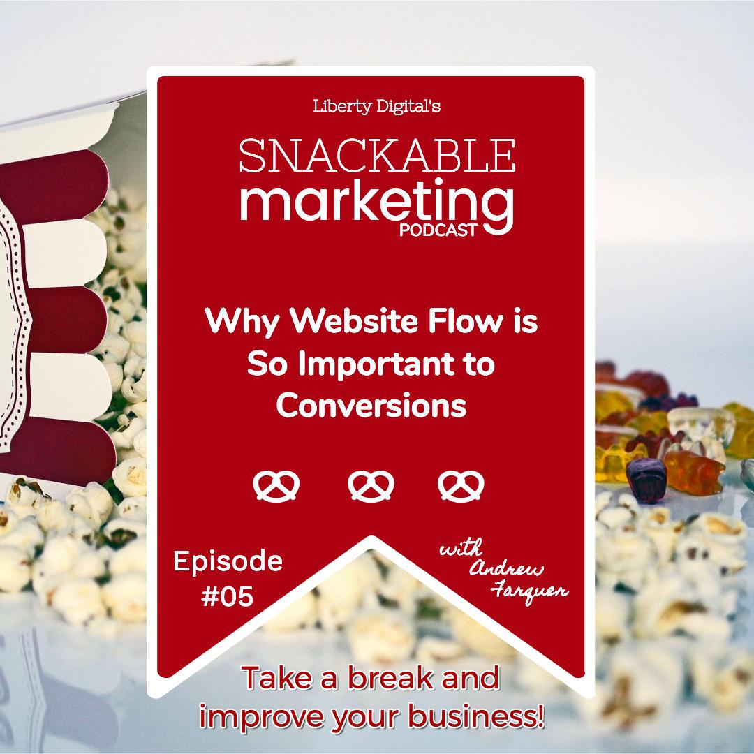 website flow snackable marketing