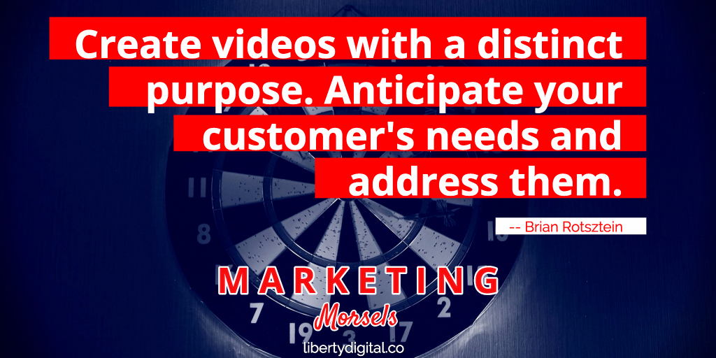 videos with purpose