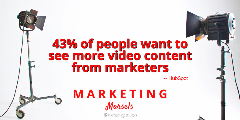 people want videos