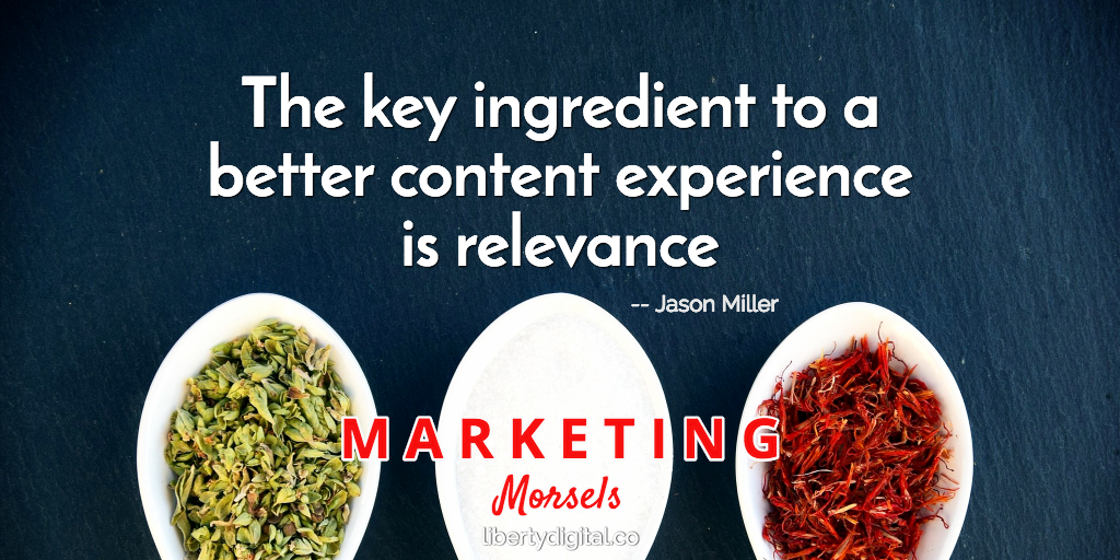 Content Marketing Ingredient