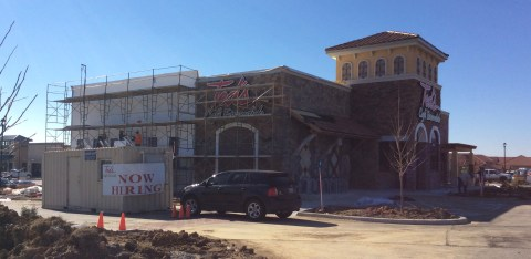 Construction is nearly completed on Ted's Cafe Escondido