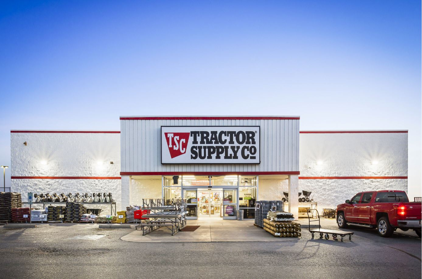 Picture of a Tractor Supply Co. store as a Triple Net property - Liberty Real Estate.
