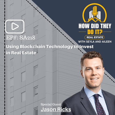 Picture of Jason Ricks for How Did They Do It? Real Estate podcast with Bonavest Capital on private real estate investments and net leases.