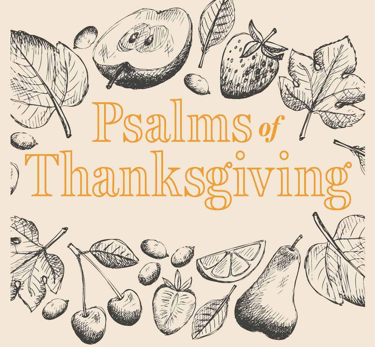 Psalm 92 Give Thanks