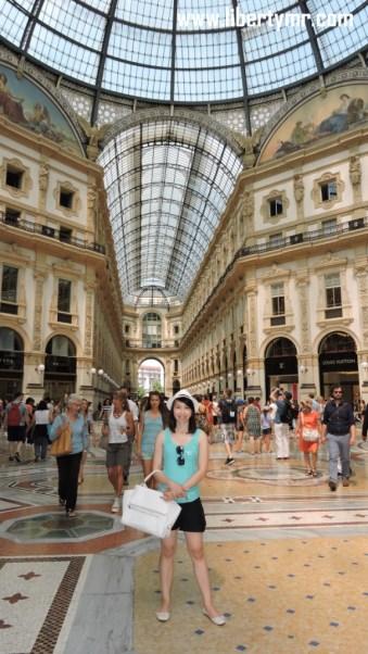 Liburan di Milan Italia, Duomo Milano & Galleria Vittorio Emanuele II (33)