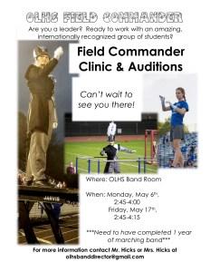 Field Commander Poster