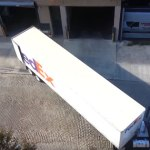 VIDEO: Threading The Needle In A FedEx 18 Wheeler