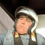 WATCH WEBCAM: Jay Leno Flips In 2,500 HP Car Driven By 80 Year Old Stunt Driver