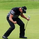 Stenson Dazzles At the British Open