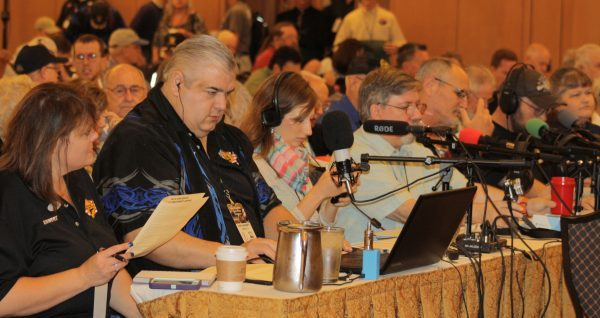 The annual Gun Rights Policy Conference attracts media attention and will be live-streamed this year. (Dave Workman photo)