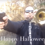 The Munsters Theme On Trumpet & Gun? HAPPY HALLOWEEN!!!