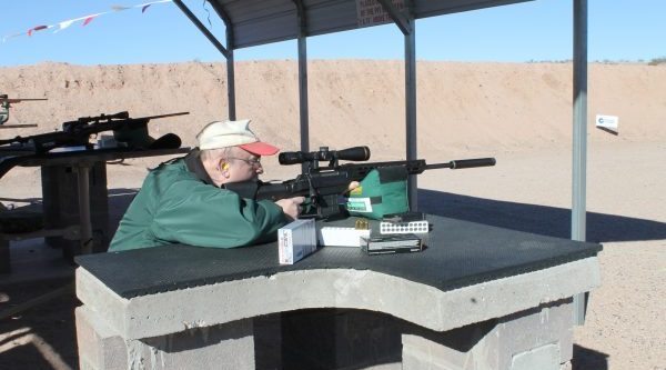 Suppressors like the one on this rifle, should be available to everyone, proponents of the National Hearing Protection Act say.