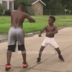 TOTAL EGO STROKE!  Little Boy Takes Down Teen Twice His Size Who Tried To Steal His Bike [VIDEO]