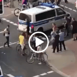 WATCH! Hamburg Police Officer Has Had It With Antifa Obstruction – BAM! [VIDEO]