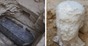"Mysterious ""Super Sized"" Coffin Discovered In Egypt"