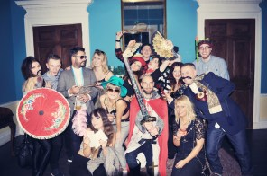 Liberty Pearl Vintage photo booth Une Soiree Inoubliable Charity event Bristol 23