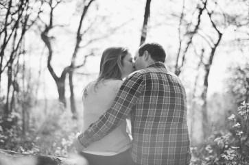 Anna and Ed pre wedding shoot Bluebell Woodlands, Bristol