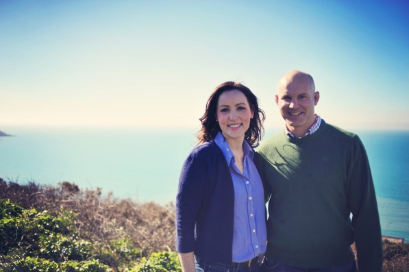 Briony and Ed Engagement Shoot Whitsand Bay Beach Cornwall