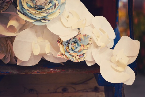 Pulp Flora styled Vintage Wedding Photo Shoot in Devon