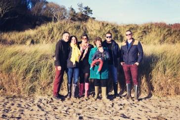 Devon family photo shoot - Mothecombe beach 2