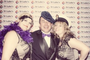 Charity Vintage photo booth - St Luke's Hospice Puttin on The Glitz Plymouth 42