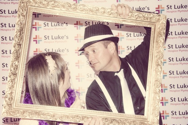 Charity Vintage photo booth - St Luke's Hospice Puttin on The Glitz Plymouth 58