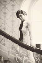 The Duke of Cornwall Hotel Plymouth Vintage styled wedding photography shoot Devon 152