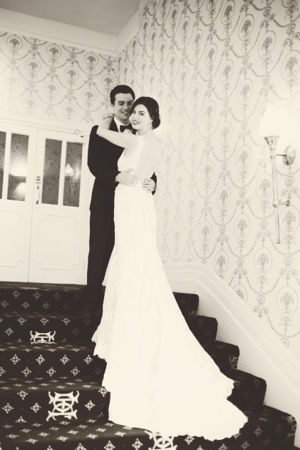 The Duke of Cornwall Hotel Plymouth Vintage styled wedding photography shoot Devon 153